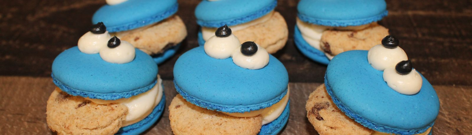 Cookie_Monster_Macarons